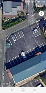 駐車スペースを含む保管場所を航空写真で表示する