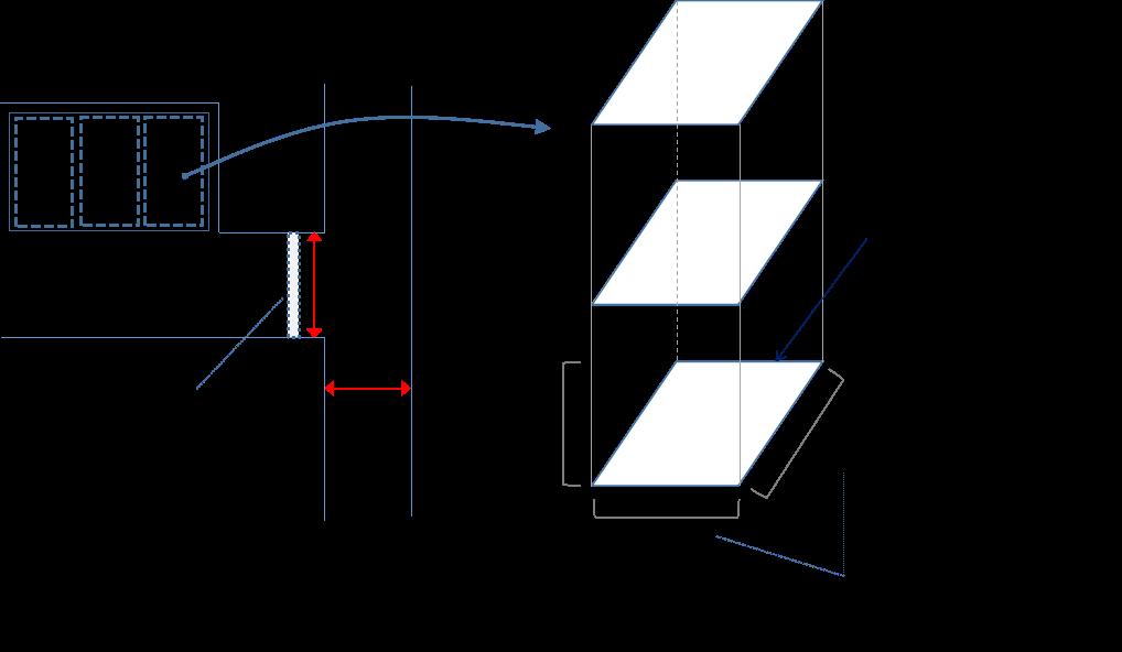 立体駐車場(パレット式)の保管場所の書き方